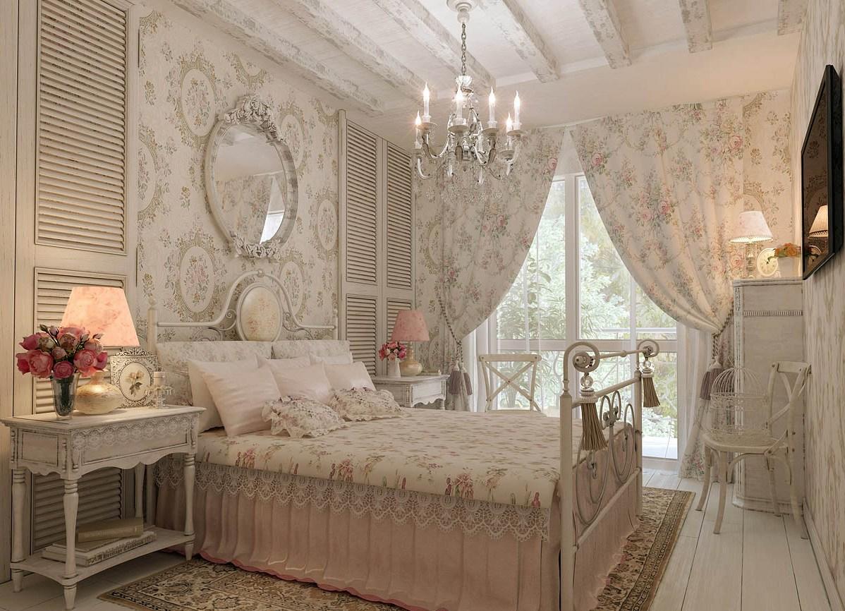 Спальня стиль прованс фото интерьер своими руками 235