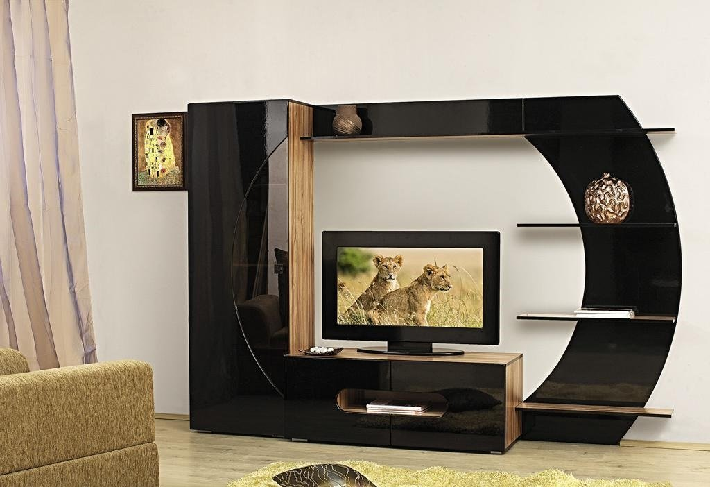 Горка под телевизор дизайн