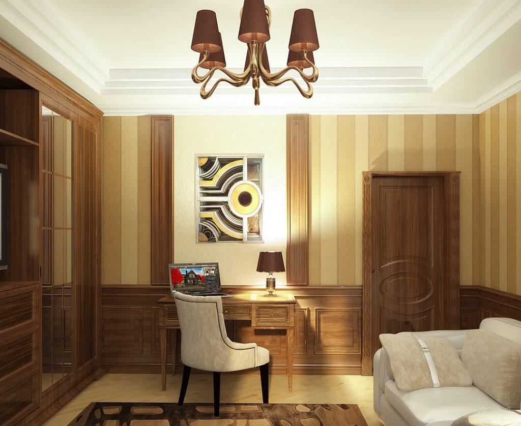 Арт деко стиль — как применить его в интерьере гостиной и кабинете