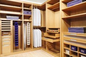 Системы для хранения вещей для гардеробного конструктора
