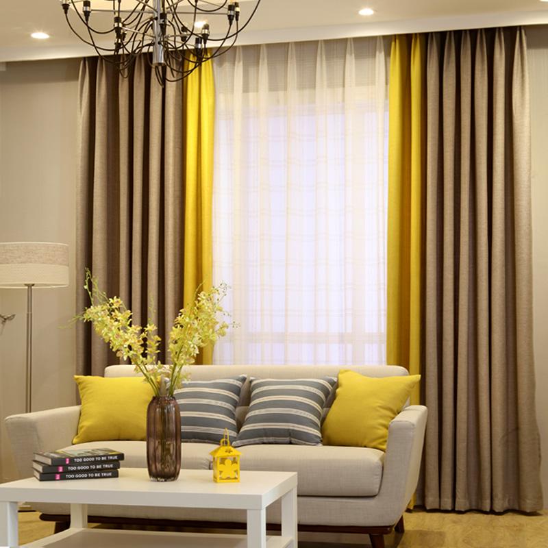 Как подобрать льняные шторы для интерьера гостиной, кухни или спальни