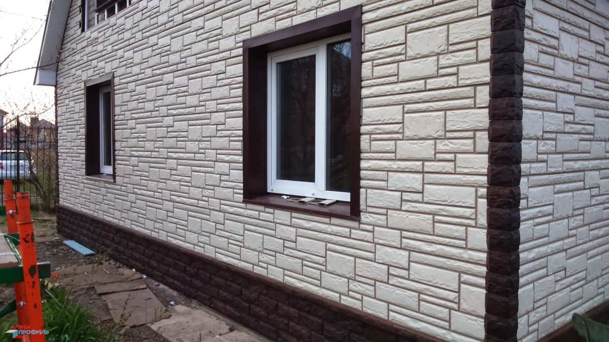 Фасадные панели коллекция Камень