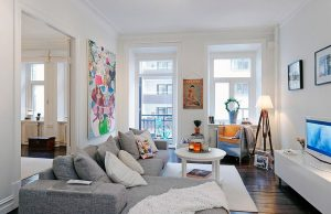 Домашний интерьер в скандинавском стиле