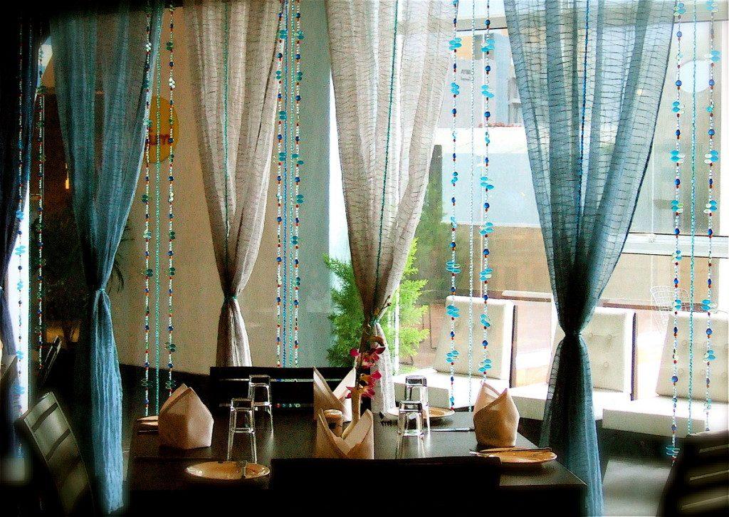Создание занавески и шторы из бусин своими руками?