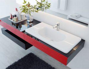 Столешница для ванной комнаты под раковину