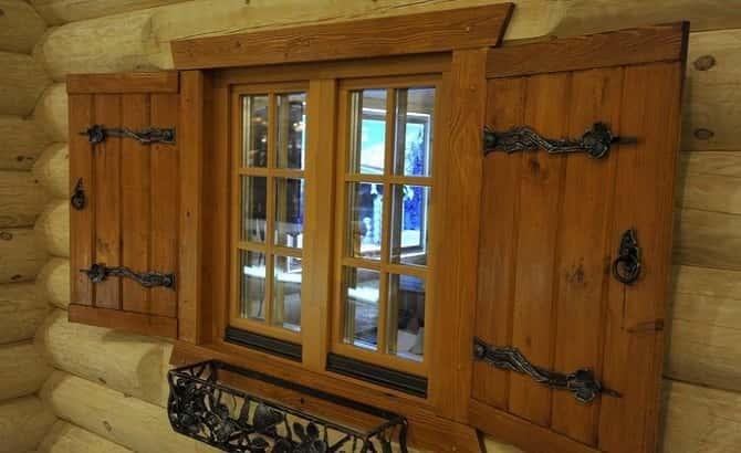 Ставни на окна – красота и защита дома