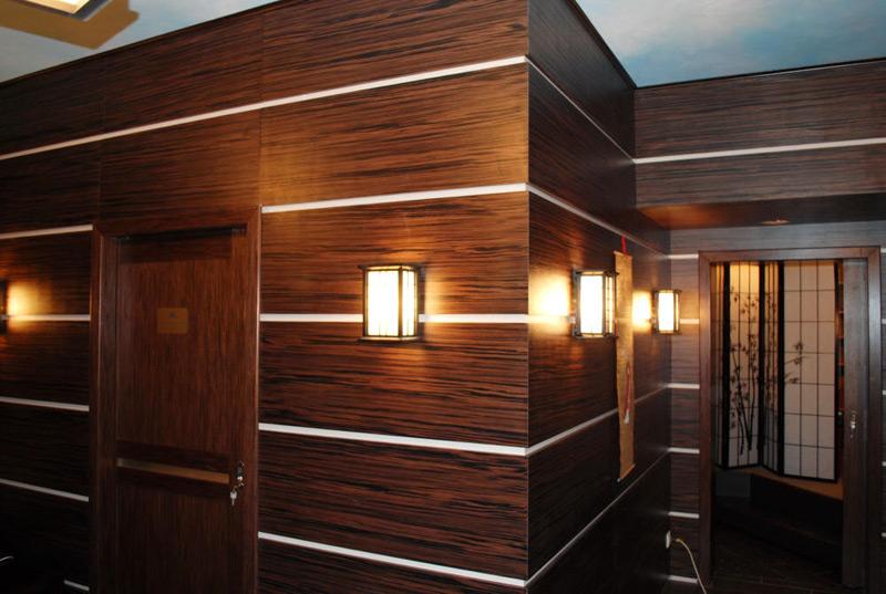 Стеновые панели для отделки внутри помещений