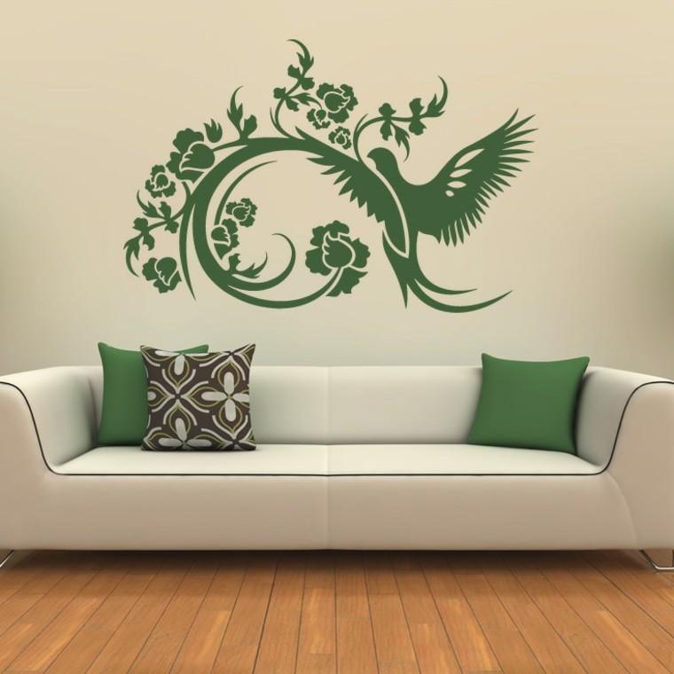 декоративные рисунки на стенах своими руками вальсе мендельсона кружилась