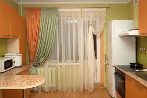 Выбираем тюль на кухню — варианты оформления и украшения комнаты