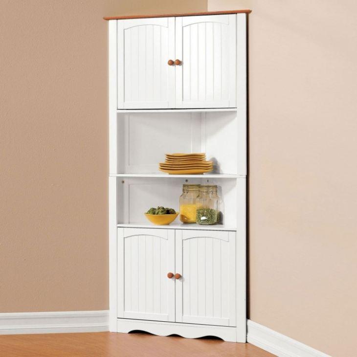 Угловой шкаф на кухню для посуды, все виды и критерии
