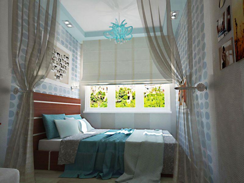 Особенности дизайна и планировки узкой спальни