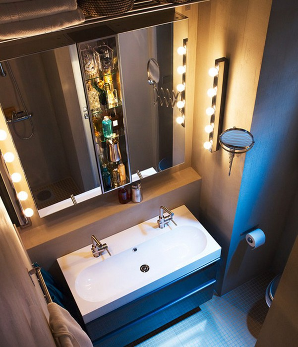 Какие зеркала хорошо смотрятся в интерьере ванной комнаты?