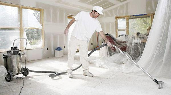 Как правильно организовать уборку после ремонта?