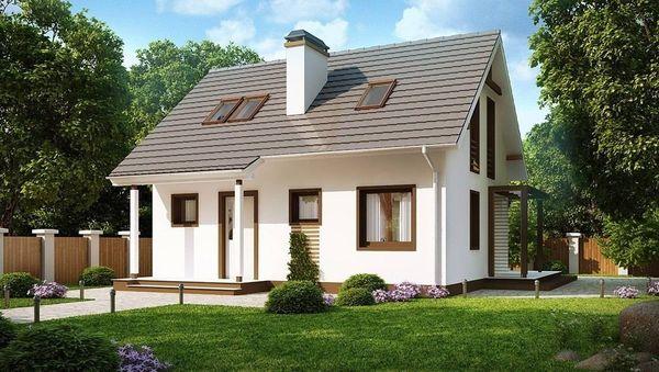 Проекты домов до 100м2: 5 весомых плюсов