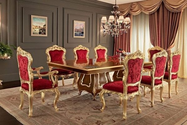 Стулья в классическом стиле в интерьер квартир и домов