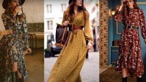 Модные тренды. Платья 2021