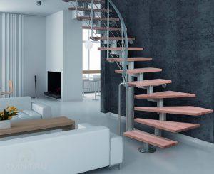 Модульные лестницы: разновидности и преимущества